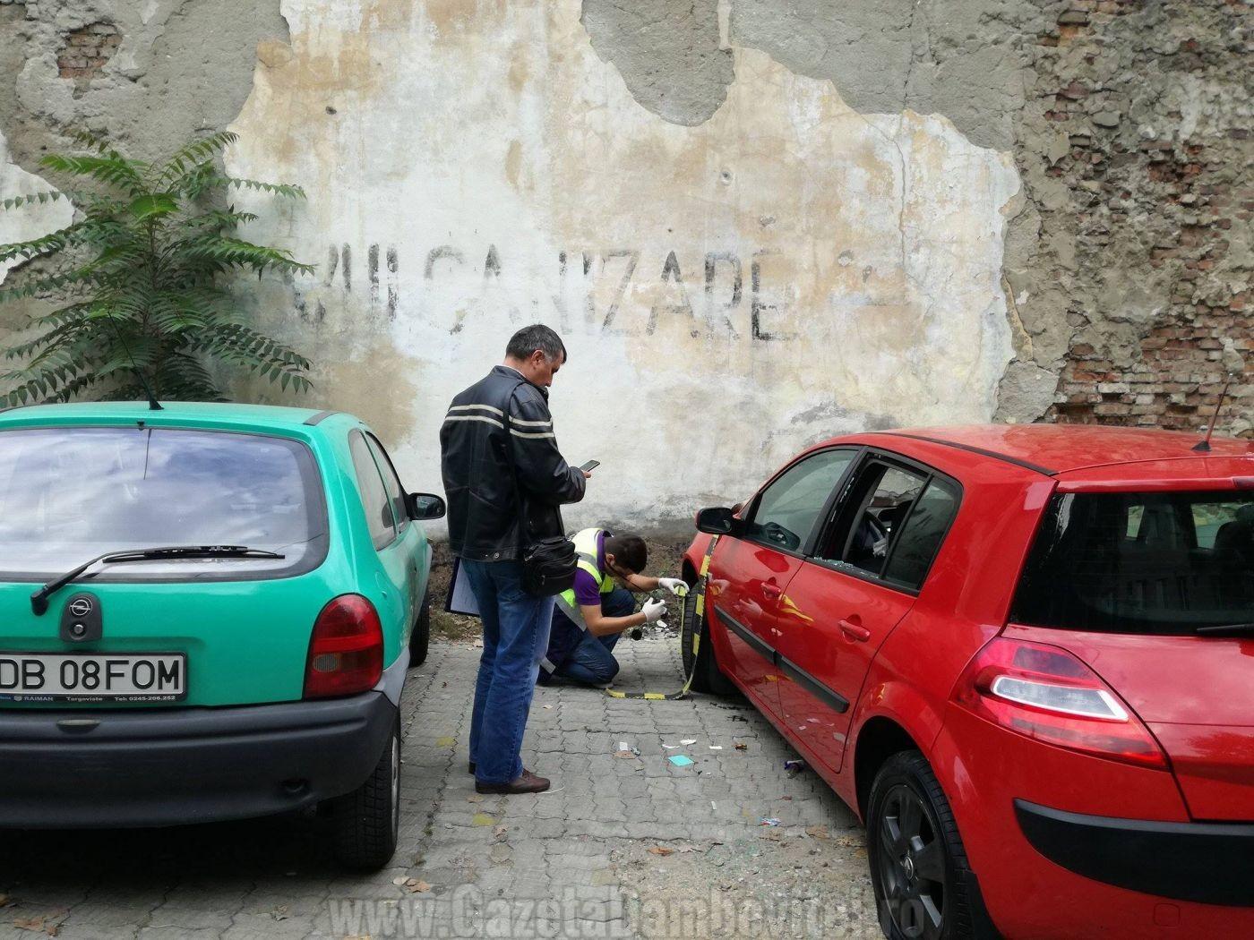 masina-vandalizata-targoviste-2