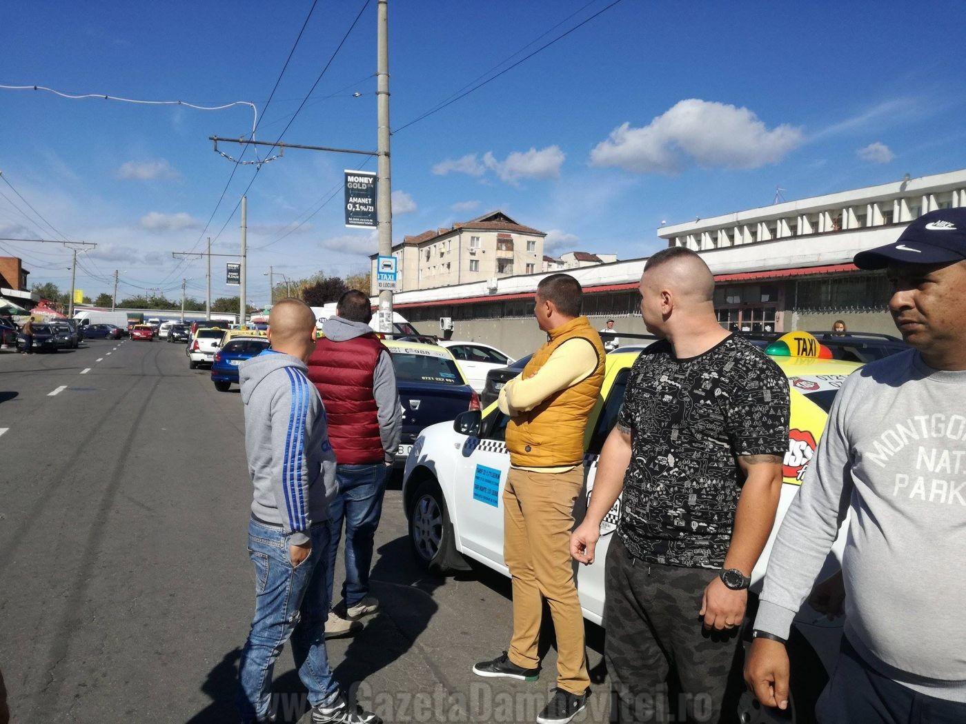 targoviste-protest-taximetristi-1