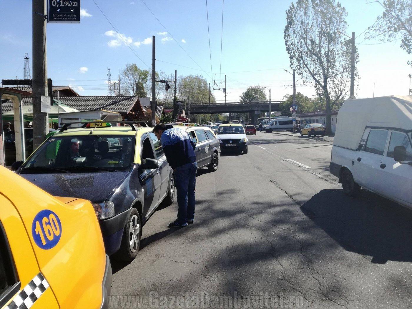 targoviste-protest-taximetristi-3