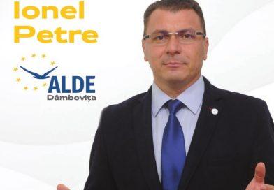 """Ionel Petre: """"ALDE Dâmbovița susține Legea salarizării unitare"""""""
