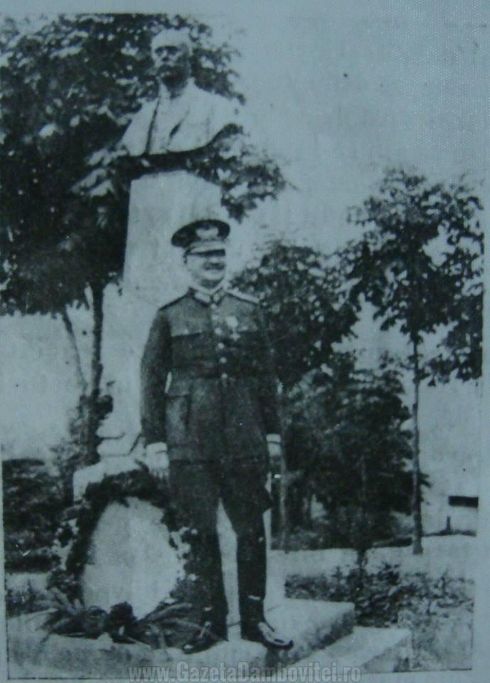 Generalul Marcel Olteanu, primul comandant al liceului