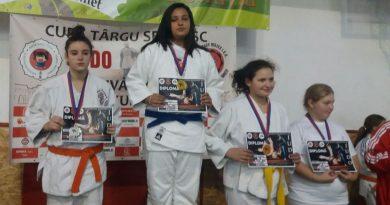 JUDO: Judoka de la CS Târgoviște, de șapte ori pe podium la Turneul Internațional de la Târgu Secuiesc