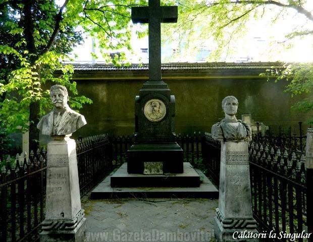 Mausoleul familiei Dalles din Cimitirul Bellu
