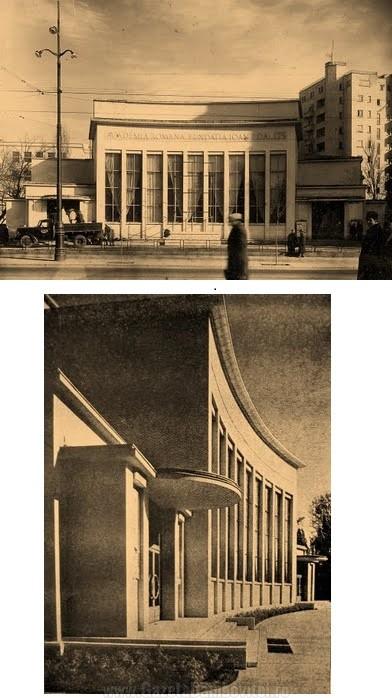 Fațada Fundației Ioan I. Dalles