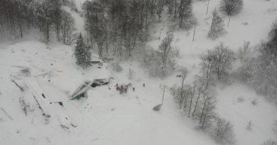 Hotel din Italia, spulberat de o avalanşă, după cutremurele din  peninsulă – VIDEO