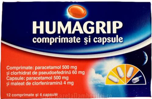 Ești răcit? Specialiștii Hyperici recomandă Humagrip