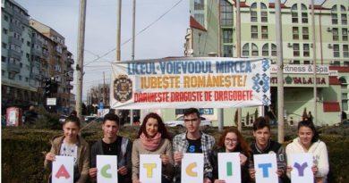 """Liceul """"Voievodul Mircea"""" a promovat în cadrul unui program european, Dragobetele"""