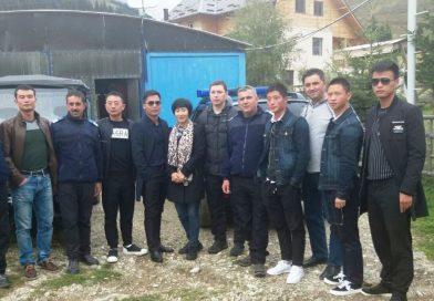 Instructori din Trupele Poliției Înarmate Populare Chineze, vizită de informare la Jandarmeria Montană dâmbovițeană