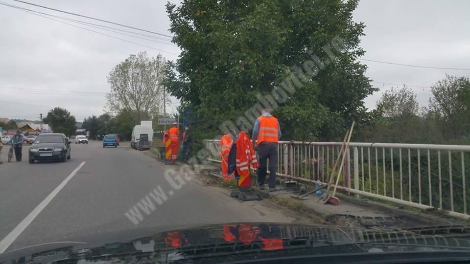Unul dintre podurile prin care se face accesul în muncipiul Târgovişte va fi închis din 25 septembrie