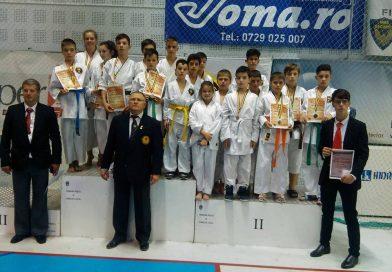 10 medalii obținute de elevii de la cercul de karate al Palatului Copiilor Târgoviște