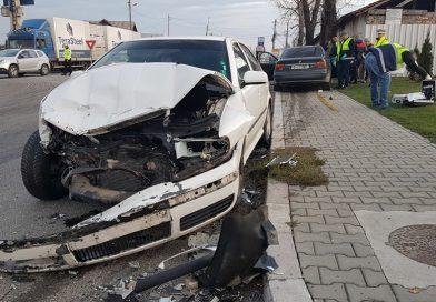 Accident la Ulmi! Reacție ciudată a unui șofer: A fugit, deși nu era vinovat!