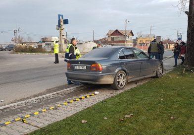 Poliția l-a găsit pe șoferul BMW-ului implicat în accidentul de la Ulmi! A fugit pentru că nu avea permis