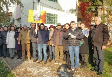 Continuă protestele la APIA Dâmbovița!