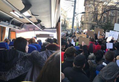 APIA Dâmbovița, la protestul de la Ministerul Agriculturii! Ministrul Daea nu a vorbit cu protestatarii