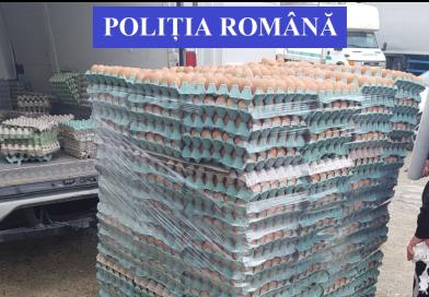 27.000 de ouă, confiscate în Dâmbovița