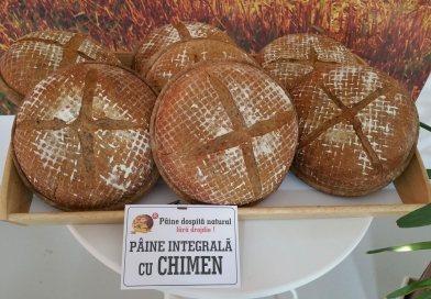 Pâine integrală cu chimen – un nou produs al Brutăriei Câmpeanu