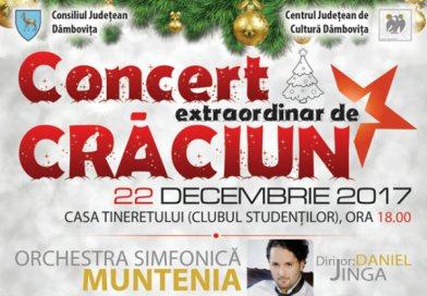 22 decembrie – Concertul extraordinar de Crăciun, la Târgoviște