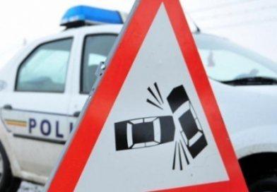 Trafic blocat pe DN 71. Un TIR și trei mașini, implicate în accident