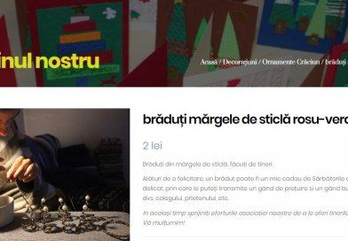 Deputatul Cezar Preda promovează produsele handmade făcute de copii cu autism