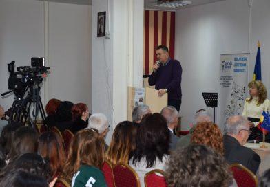 """Ziua Culturii Naţionale, în contextul aniversării Centenarului Marii Uniri, celebrată la sediul Bibliotecii Judeţene """"I. H. Rădulescu"""", din Târgovişte"""