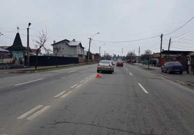 TÂRGOVIȘTE: O femeie, care traversa neregulamentar, lovită de un autoturism