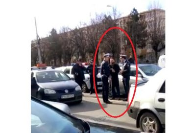 Un bărbat din Moreni a călcat cu mașina o polițistă, ca să scape de amendă VIDEO