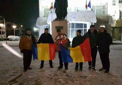 În fieful PSD de la Târgoviște, protestatarii îi numeri pe degete! Nemulțumiții rămân în spatele Facebook-ului