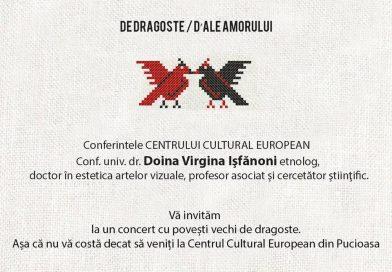 În căutarea lui Dragobete…la Centrul Cultural European Pucioasa