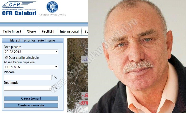 Agenda parlamentară: Iancu Caracota (PNL) – Achiziţionarea online a unui bilet CFR  necesită 40 de minute