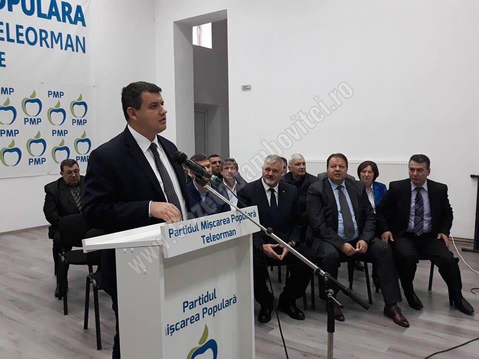 """PMP: """"Dragnea continuă lupta cu adversari inventaţi pentru a justifica eşecul guvernării PSD"""""""