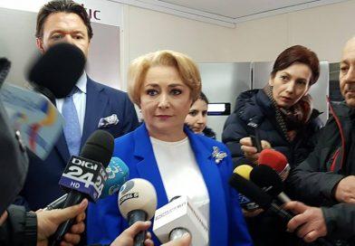 DÂMBOVIȚA: Premierul Dăncilă, discuții cu reprezentanții unor societăți și cu primarii. Presa nu a avut acces