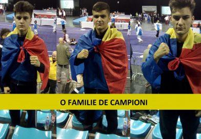 Familia Marin adună medalii la orice competiție!
