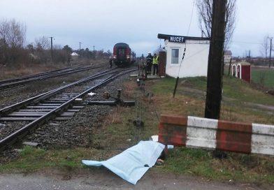 Un bătrân a fost călcat de tren, la Nucet!