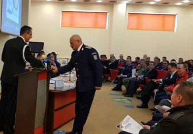 DÂMBOVIȚA: De Ziua Poliției Române, 96 de polițiști au fost avansați la termen