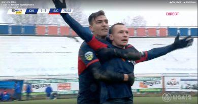 Decarul Chindiei a înscris un gol fabulos în partida cuLuceafărul Oradea – VIDEO