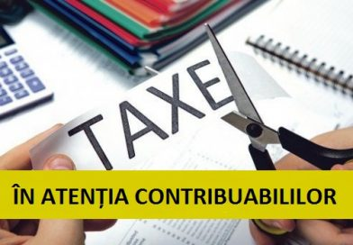 TÂRGOVIȘTE: Taxele și impozitele pot fi plătite până pe 30 septembrie, fără majorări de întârziere