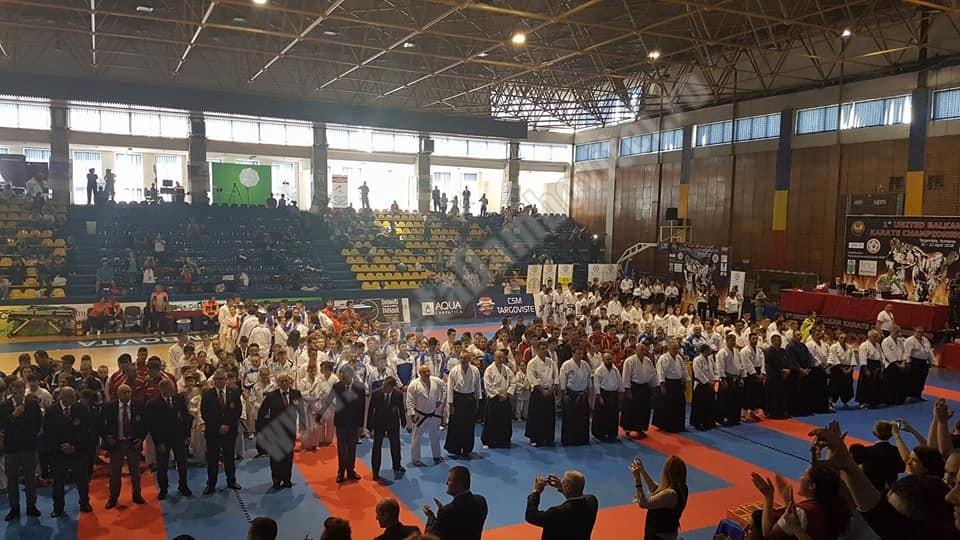 Târgoviște, gazda Campionatului Balkanic de Karate Unit