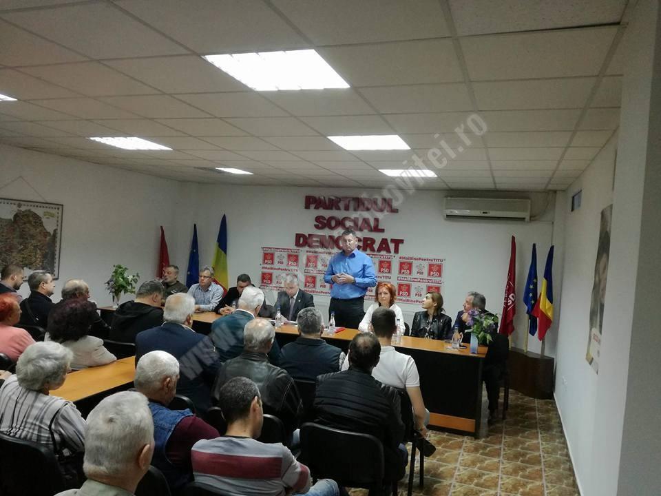 TITU – Încă un pas spre anticipate! Consilierii PSD nu participă la ședința de consiliu local