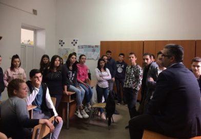 ÎNTÂLNIRE CU OAMENI DE AFACERI DE SUCCES – un atelier sub egida ERASMUS+ la liceul'Voievodul Mircea', Târgovişte