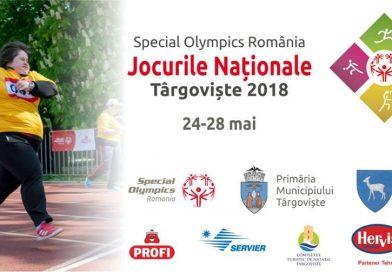 TÂRGOVIȘTE: 300 desportivi sunt așteptați la Jocurile Naționale Special Olympics 2018