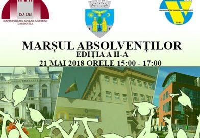 TÂRGOVIȘTE: Astăzi, de la ora 15:00, are loc Paradei Absolvenților de liceu