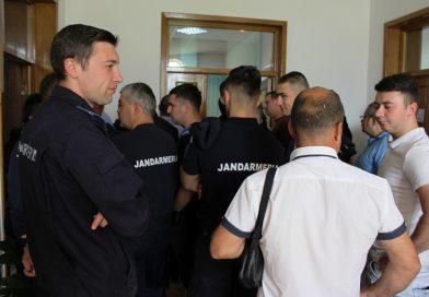 Jandarmii dâmbovițeni au stat la coadă pentru a dona sânge