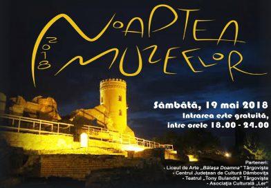 """Programul evenimentului """"Noaptea Muzeelor""""  la Târgovişte"""