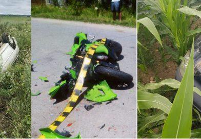 Duminică, accidentele s-au ținut lanț pe soșelele din Dâmbovița