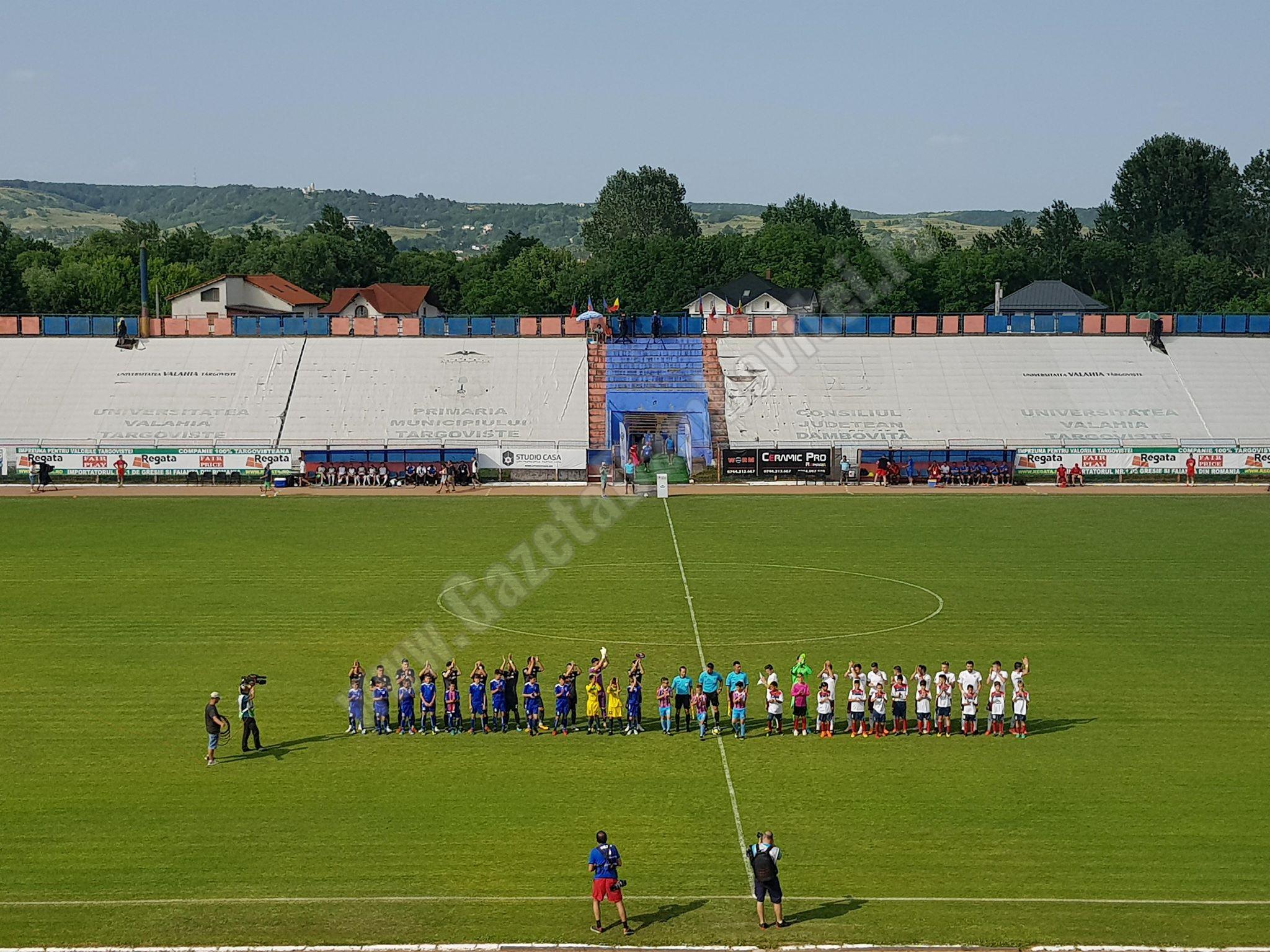 Chindia s-a impuns clar în amicalul cu Voluntari! Pe 13 iunie, târgovișteii au ratat Liga 1, în fața Voluntariului