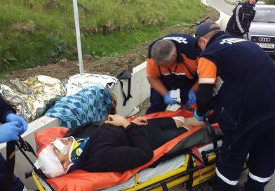 DICHIU: Un tânăr care cobora cu bicicleta a căzut și s-a lovit la cap. A fost preluat de SMURD