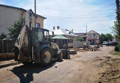 TÂRGOVIȘTE: Atenție șoferi! Strada Cetății, închisă pentru lucrări