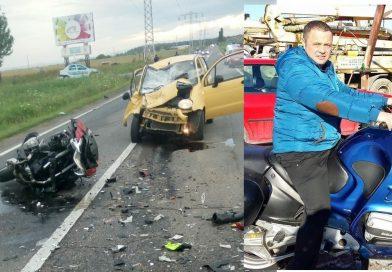 DÂMBOVIȚA: Un polițist de la serviciul rutier, omorât într-un accident pe DN 71