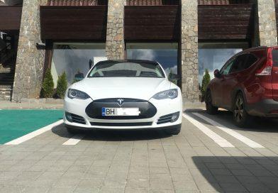 DÂMBOVIȚA: Stația de încărcare electrică de la Peștera a început să atragă turiști și pe acest segment