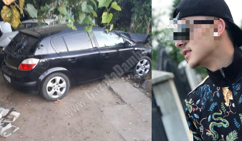 BĂLENI: Un șofer de 19 ani, băut, și-a ucis prietenul minor într-un accident